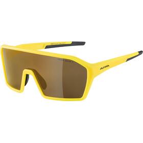 Alpina Ram HM+ Glasses pineapple matt/gold mirror
